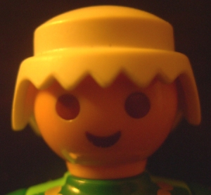 playmobil. face