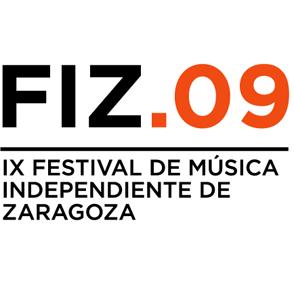 FIZ. IX Festival de Música Independiente de Zaragoza – FIESTAS DEL PILAR 2009